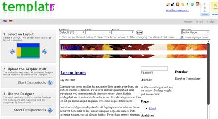 wordpress themes erstellen generator pixey de 187 online generator templatr zum wordpresstheme
