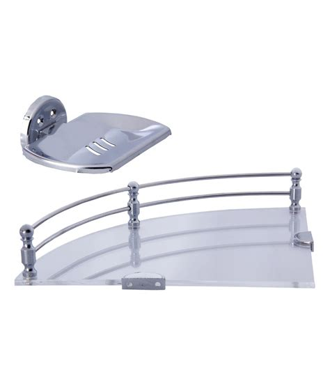 dolphy stainless steel corner shelf 6 inch and stainless
