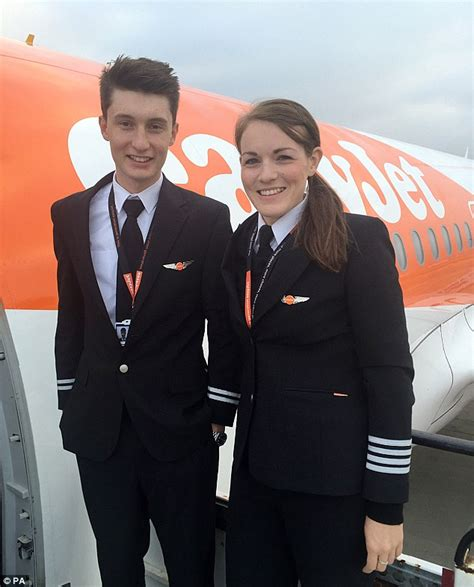 easyjet cabin crew easyjet pilot becomes world s youngest commercial captain