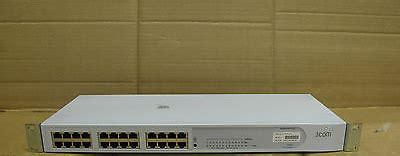 Switch Hub 24 Port 3com 3com superstack 3 3c16411 24 port baseline 10 100 dual speed hub switch