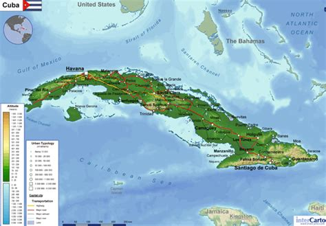 physical map of cuba 41 reasons to visit cuba