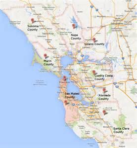 map of south bay area california ハッカー のためのベイエリアガイド