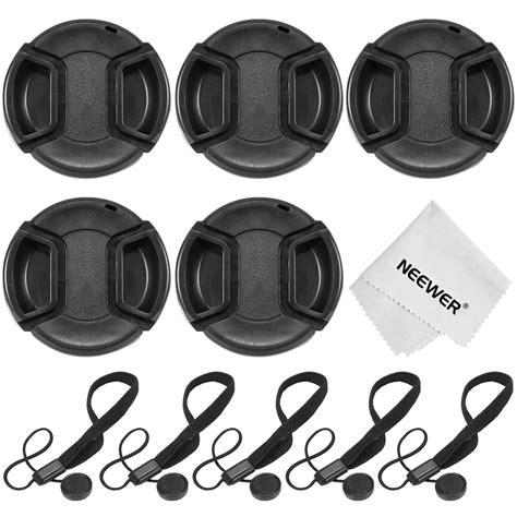Front Cap Nikon Kit 18 55mm 52mm neewer 5x 52mm lens cap cover kit for nikon d3100