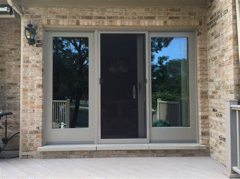andersen gliding patio doors frenchwood andersen gliding patio door barkwood gaf