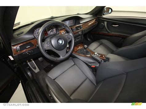 2007 Bmw 3 Series Interior by Black Interior 2007 Bmw 3 Series 328i Coupe Photo