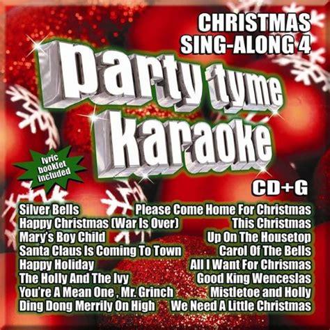 cd syb1103 party tyme karaoke christmas sing along 4 16