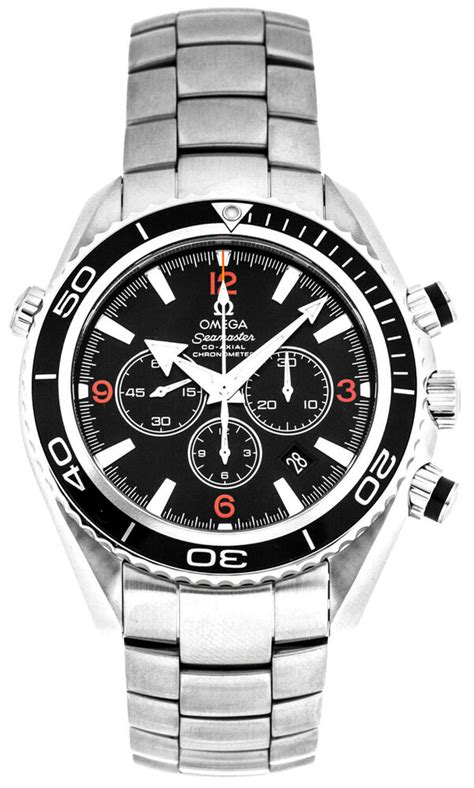 Omega 2210.51.00 Seamaster Planet Ocean 600M Men Chrono 45