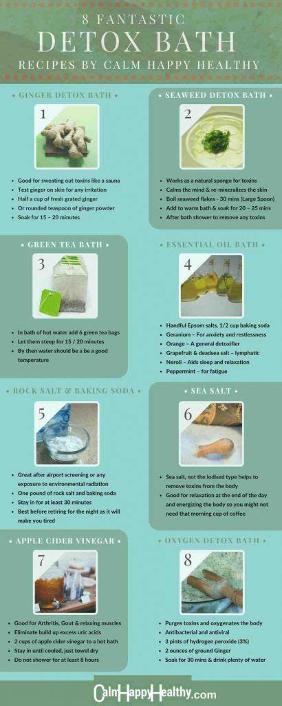 Detox Therapy Bath Salts by 25 Best Ideas About Detox Bath Recipe On