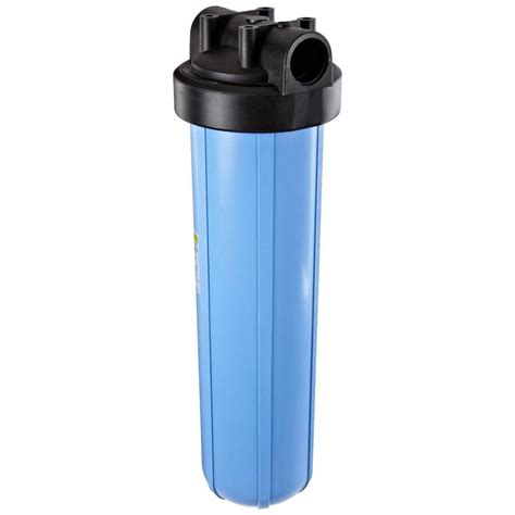 Housing Filter 20 Nanotec Inlet Outlet 34 hydronix 10 in clear filter housing hf2 10clwh14 the home depot