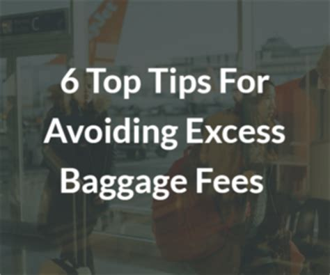 citilink excess baggage fee 6 top tips for avoiding excess baggage fees at the airport