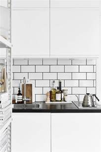 black white kitchen tiles decordots scandinavian style
