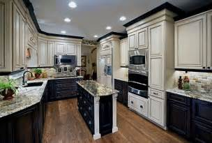 Two Color Kitchen Cabinets Ideas two color kitchen cabinets ideas two color kitchen cabinets ideas