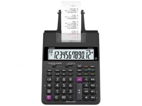 Casio Calculator Js 120tvs Sr calculators casio mini printing calculator hr 100rc bk