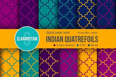 quatrefoil pattern generator indian quatrefoils digital paper pack in patterns on