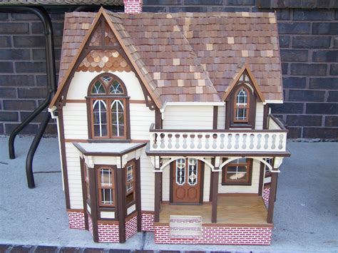 large wooden dolls house large wood doll house kit collectors weekly