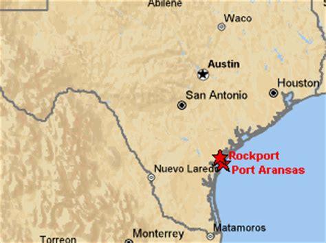 map rockport texas aransas pass tx map