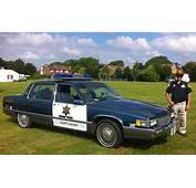 1985 Cadillac Fleetwood 69 Special Police Car  American