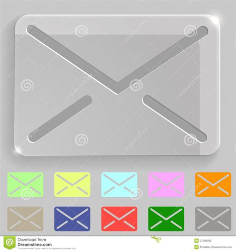 does eps format support transparency transparent envelope icon stock photography image 31386092