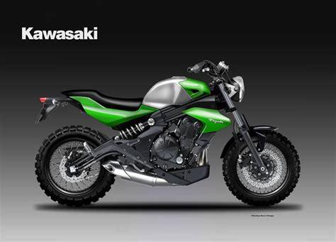 Kawasaki Er6n Motorrad Online by Er 6n Scrambler Dan Er 6n Cafe Racer Informasi Otomotif