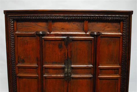 Carved Cabinet Doors Carved Two Door Cabinet Chest For Sale At 1stdibs