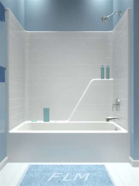 bathtub shower combos tub and shower one piece