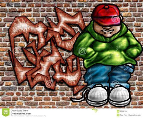 graffiti art  wall stock illustration image  ghetto