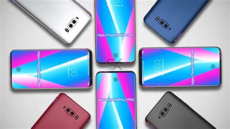 concept lg v40 viền bezels lg v40 concept brings an sd 845 chip bezel less design in display fingerprint gizmochina