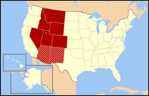 rocky mountains usa map mountain states