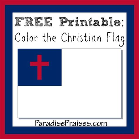coloring page of christian flag 8 best images about christian flag and pledge on pinterest