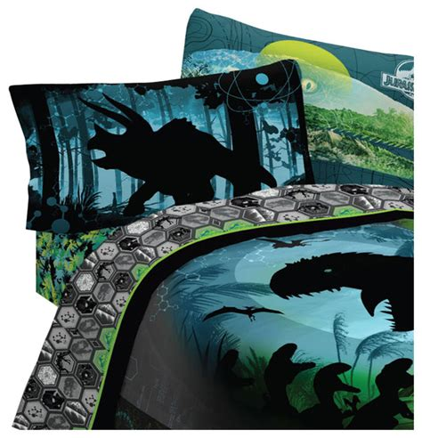 dinosaur bed sheets universal pictures jurassic world bed sheets biggest