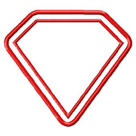 blank superman logo cliparts co