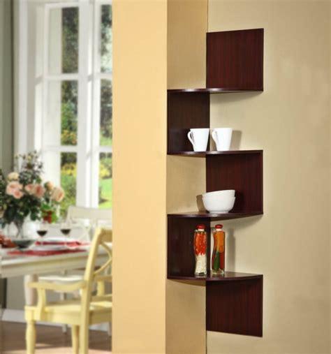 diy home raum sparen ideen eckregale designs die raum sparen und modernen look verleihen