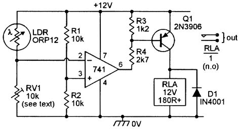 voltage sensitive relay module wiring diagram starter
