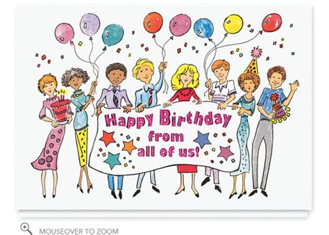 birthday card from all of us template happy birthday from all of us clipart