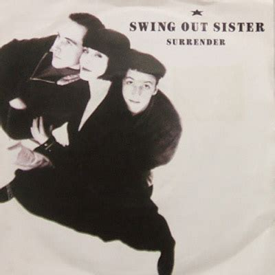 swing out sisters sub swing out sister surrender phonogram 7inch vinyl record