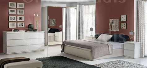 high bedroom sets create an exotic look to your bedroom with high gloss