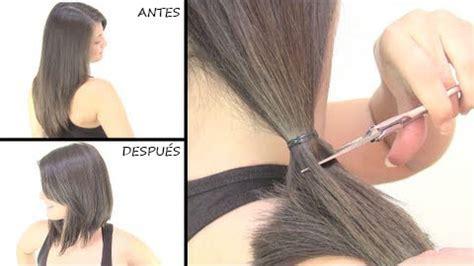 como cortarse el pelo uno mismo a capas tips para cortarse el pelo en casa consejos y