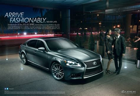 lexus ads lexus portrays the luxurious lifestyle of their ls driver