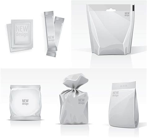 Blank Bag Template Vector Material Free Psd Mockup Pinterest The O Jays Bags And Packaging Plastic Bag Design Template