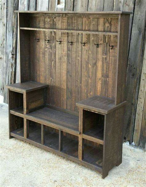 rustic entryway bench with storage awesome pinterest foyer benches trgn 5e391bbf2521 rustic