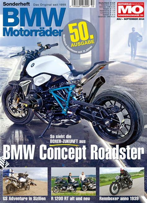 Motorrad Zeitschrift Aktuelle Ausgabe by Bmw Motorr 228 Der Ausgabe 51 Motorrad Magazin Mo