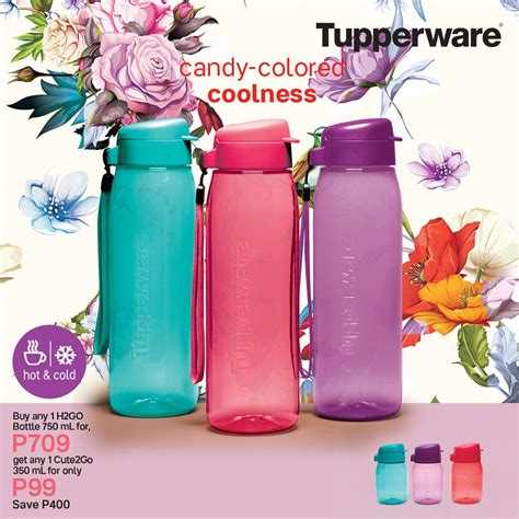 Tupperware Cute2go we eco bottles to match your style tupperware
