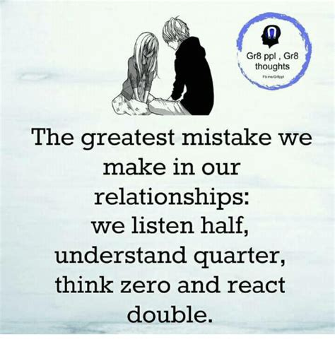 8 Mistakes We Repeat In Relationships by Gr8 Ppl Gr8 Thoughts The Greatest Mistake We Make In Our