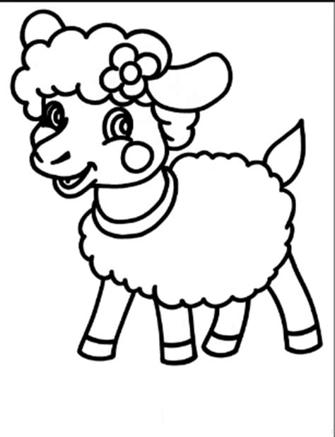 preschool coloring page sheep sheep coloring pages for preschool free coloring pages for
