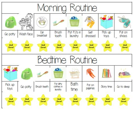 printable toddler routine mswenduhh planners printables how to get a scheduled