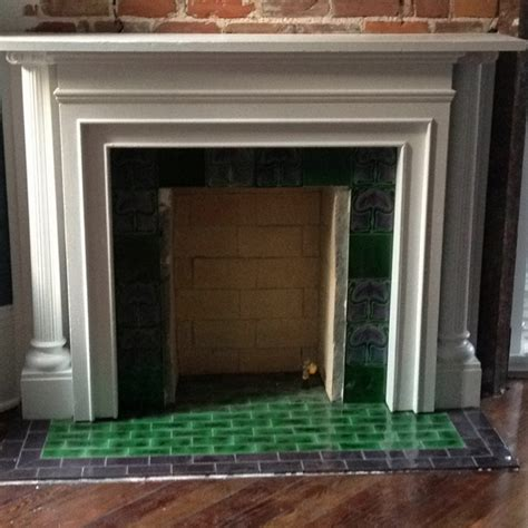 green fireplace pin by virginia stalkfleet on fireplaces repair