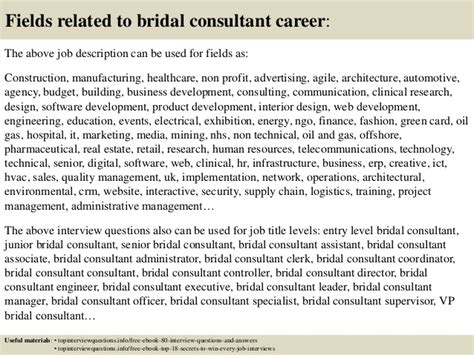 Bridal Consultant by Top 10 Bridal Consultant Questions And Answers