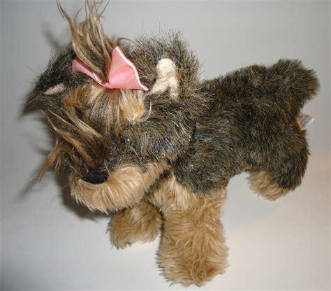 yorkie stuff helzberg diamonds toodles yorkie puppy plush stuffed animal 2008 other