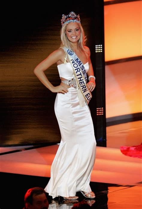 Tatana Kucharova Miss Crowned Miss World 2006 Pageant 2 by Tatana Vs Tereza