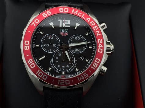 Tagheuer Formula 1 Mclaren Black tag heuer formula 1 chronograph mclaren limited edition